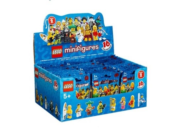 Serie due Lego Mini figures