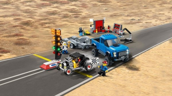 75875 Ford F-150 Raptor e Hot Rod Ford Model A