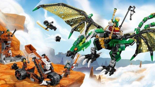 70593 Dragone NRG verde