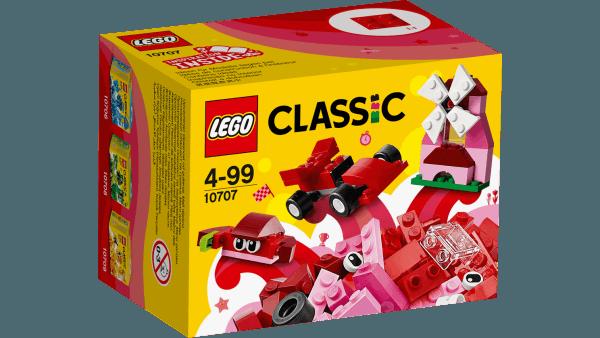 10707 Scatola della Creatività Rossa
