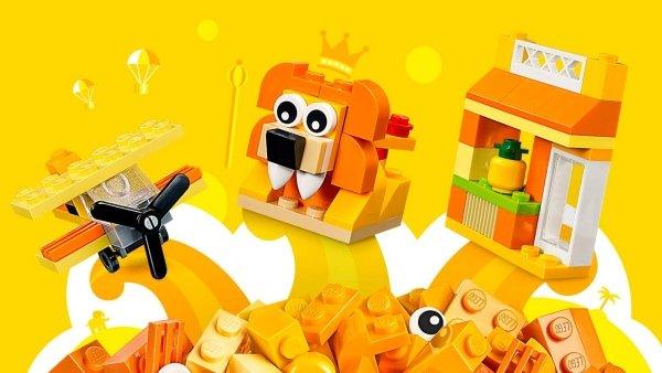 10709 Scatola della Creatività Arancione