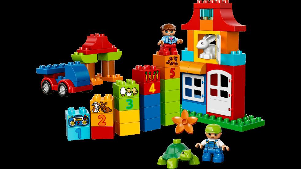 10580 CONTENITORE DELUXE LEGO® DUPLO®