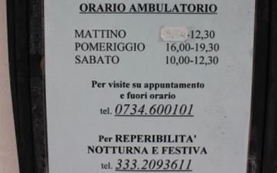Orari ambulatorio