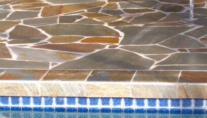 Tile pool design in Kailua, HI