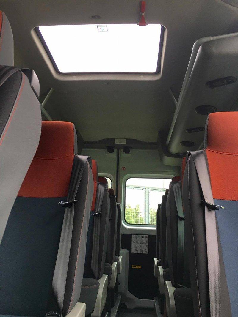 Clean minibuses
