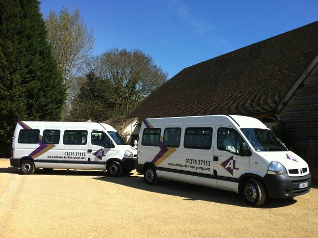 Ambassador-Line South minibuses