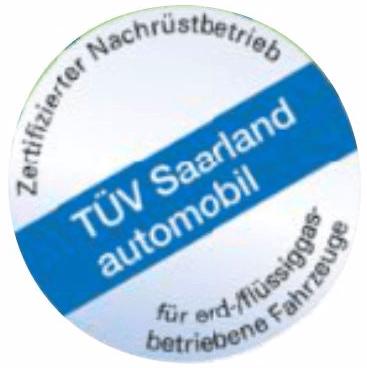 TÜV Saarland automobil logo