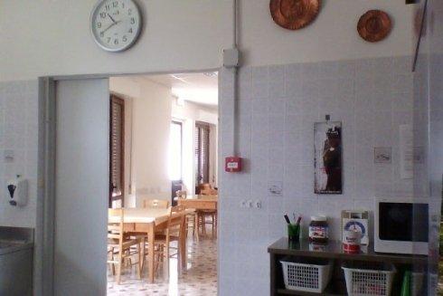 collegio con cucina
