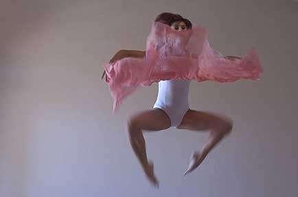 Ballerina salta