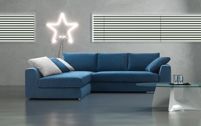 divano turchese