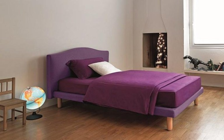 letto viola