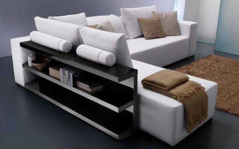 divano penisola bianco