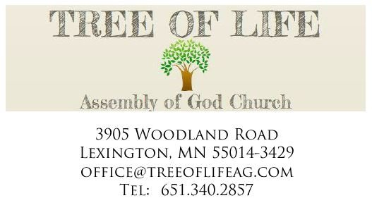 Tree of Life Church Thank You for being a Sponsor!