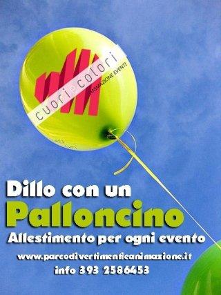 palloncini per ogni occasione pinerolo