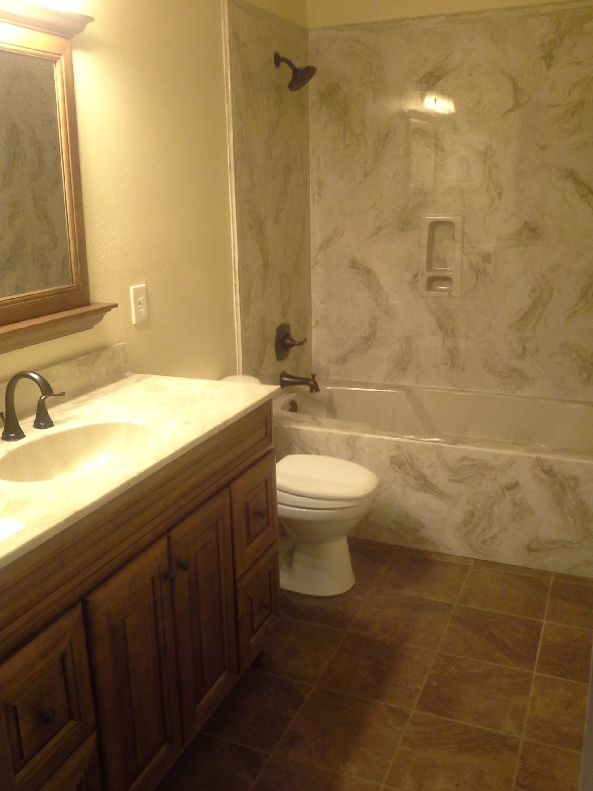 Gallery cantonment pensacola fl harlow plumbing for Local bathroom remodelers