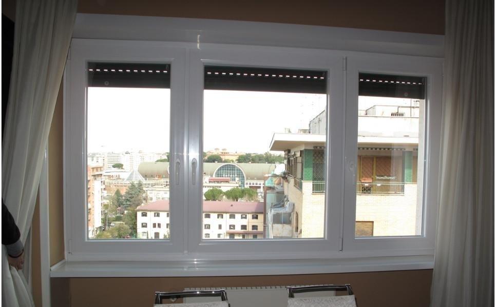 Infissi in pvc salamander roma infissi a regola d 39 arte - Isolare le finestre ...