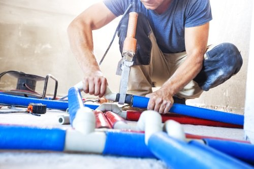 rifacimento impianto idraulico civile