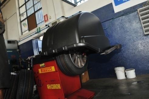 Collaudo pneumatici