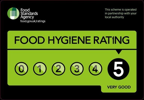 food standards agency 5 star rating