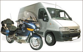 Courier service - Leeds, West Yorkshire - Feenix Couriers - Courier Vehicles