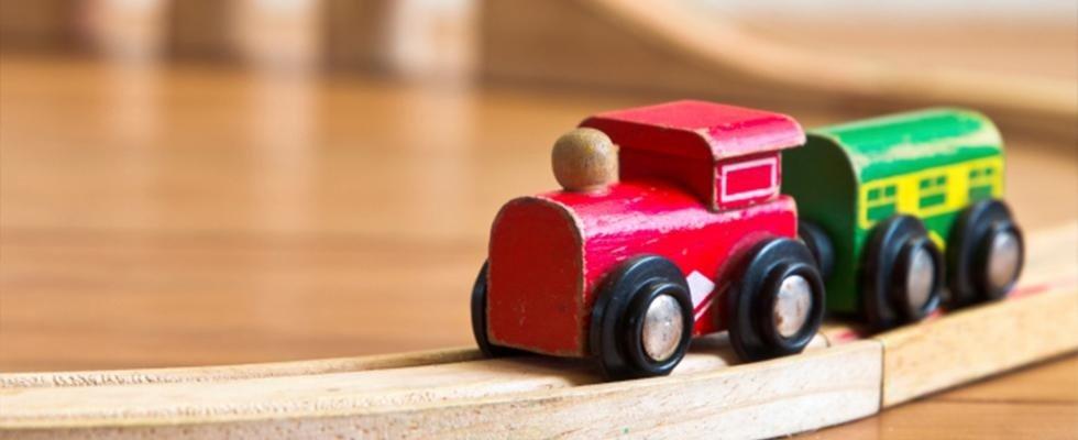 giocattoli in legno
