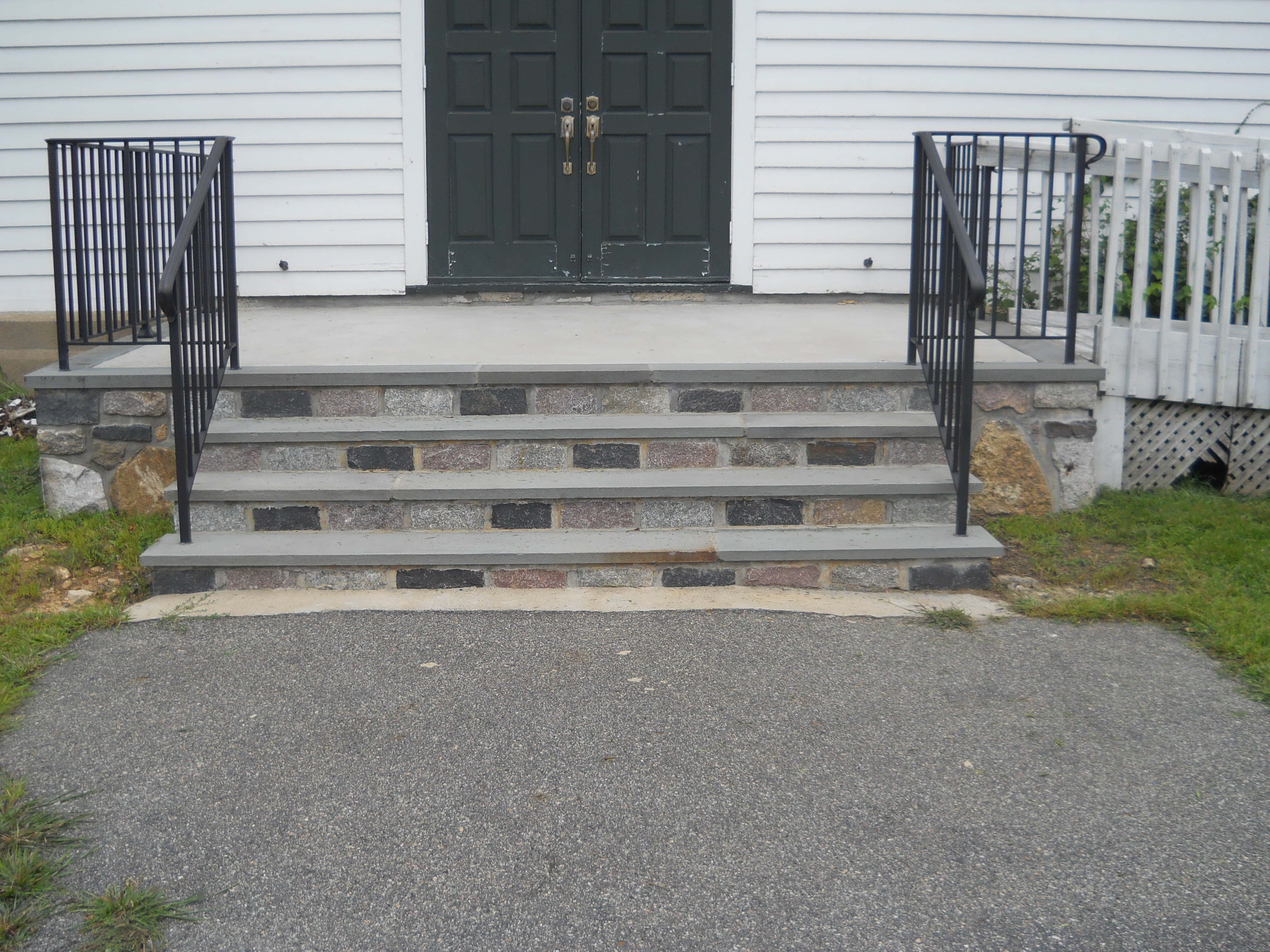Sidewalks and Stairs at C&P Masons