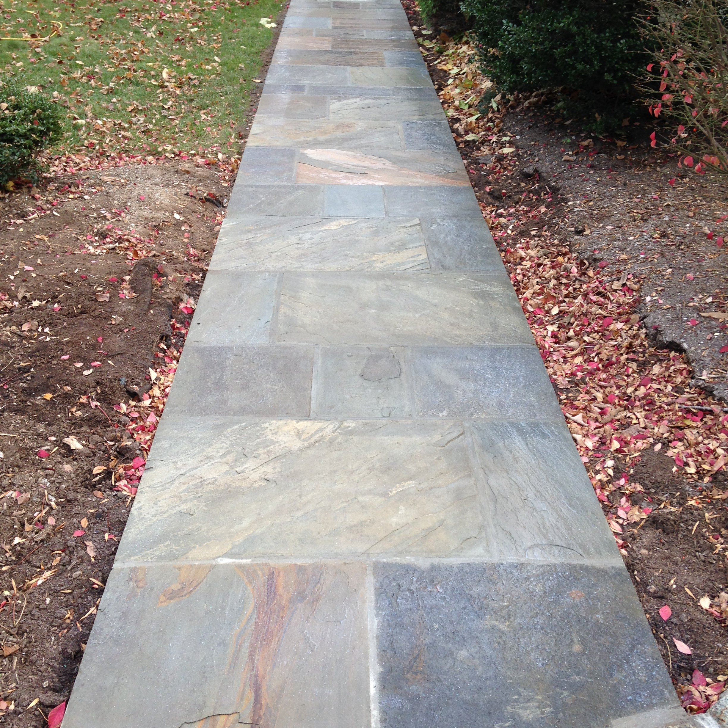 Sidewalks at C&P Masons
