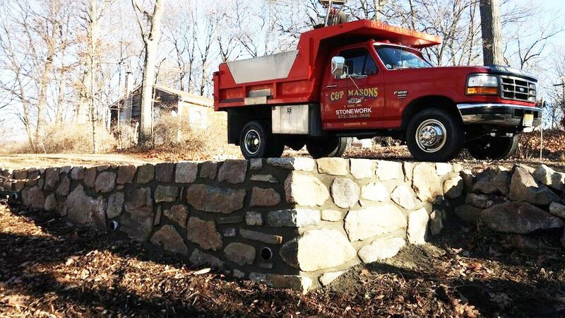 C&P Masons Truck