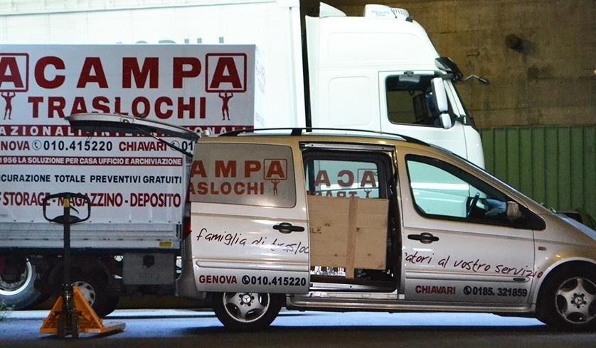 Traslochi - Genova - Acampa Traslochi