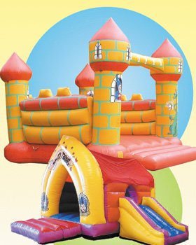 Bouncy Castles - Winchester, Hampshire - Alfred's Castles - Castles