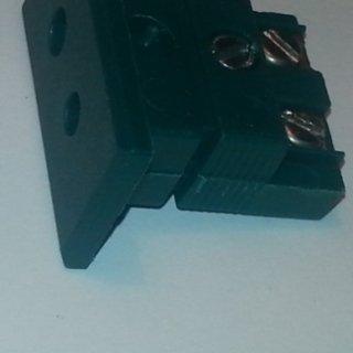 connettore standard verde