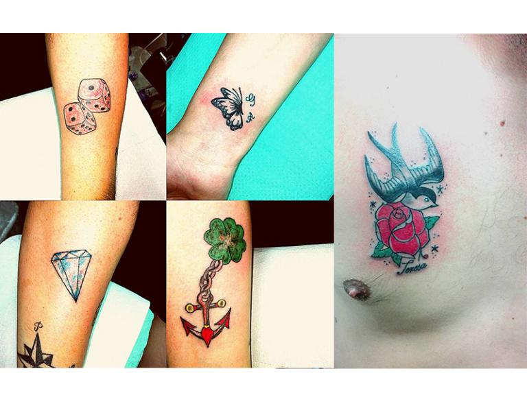 personalizzazione tatuaggio