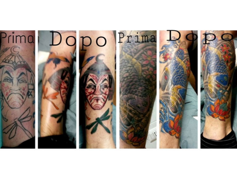 tattoo colorati