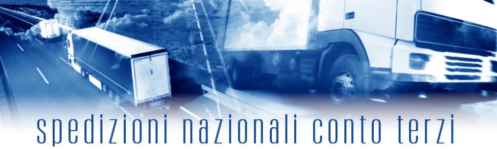 Spedizioni nazionali conto terzi