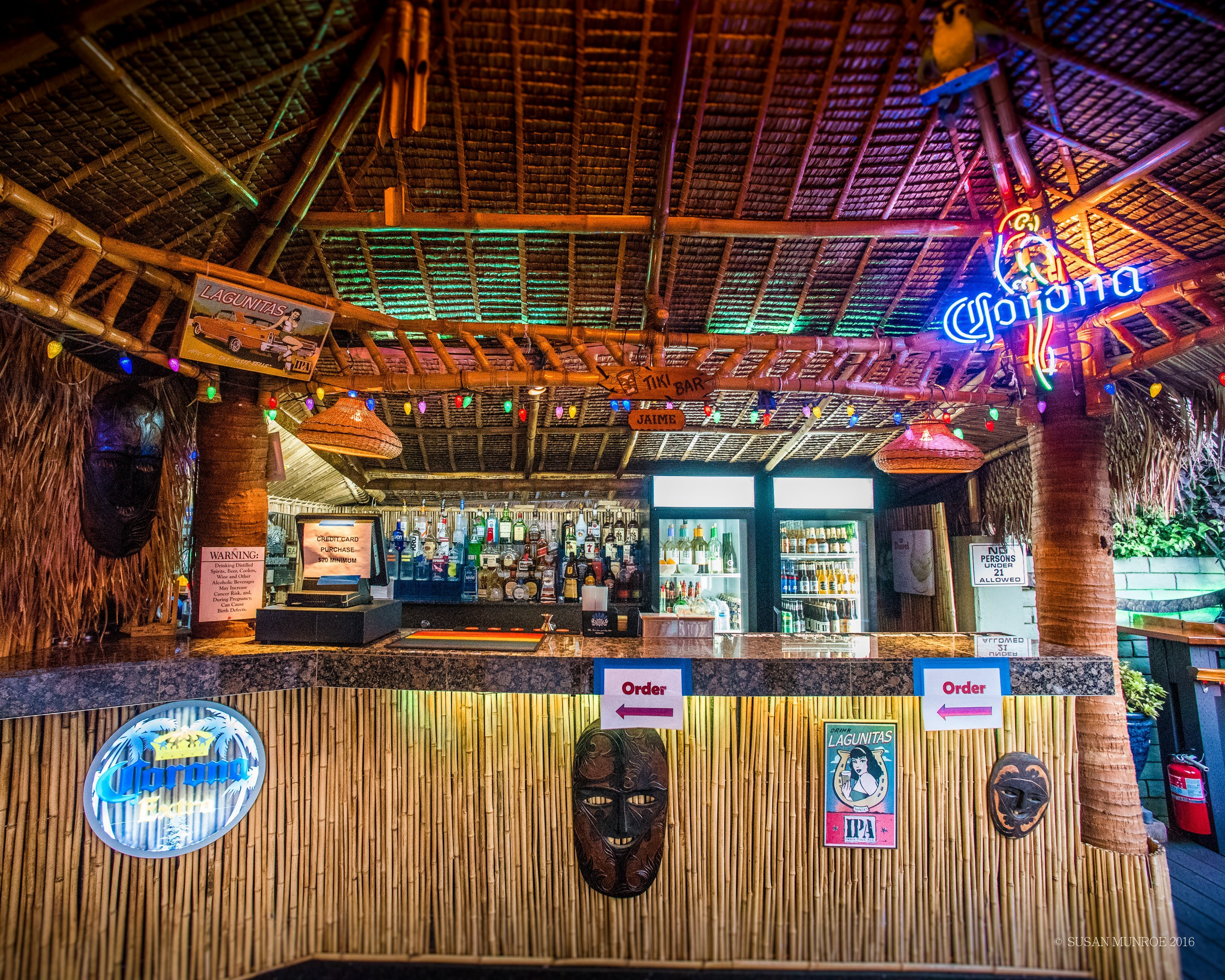 Tiki Bar, World Famous Turf Club