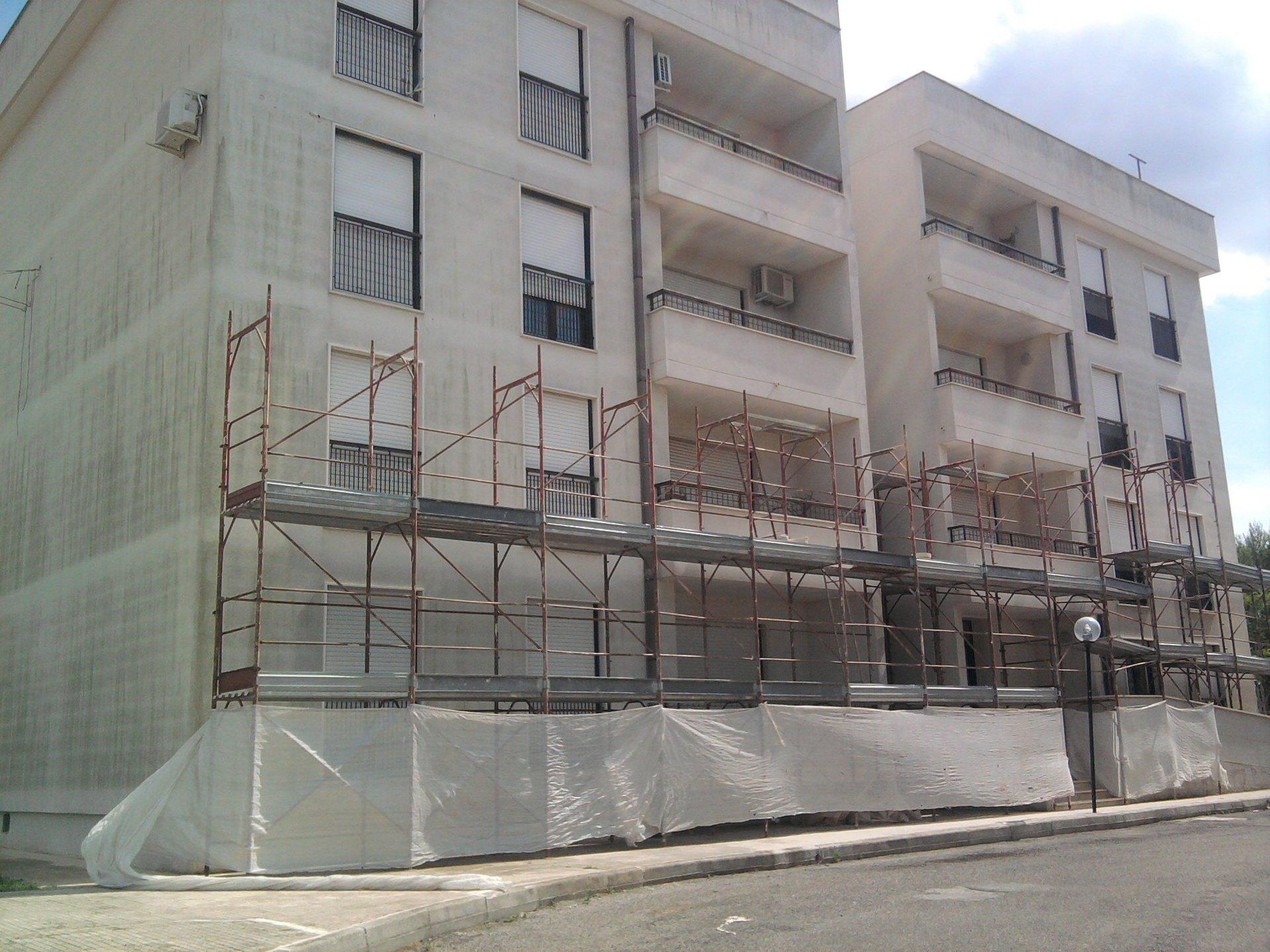 costruzione di un appartamento