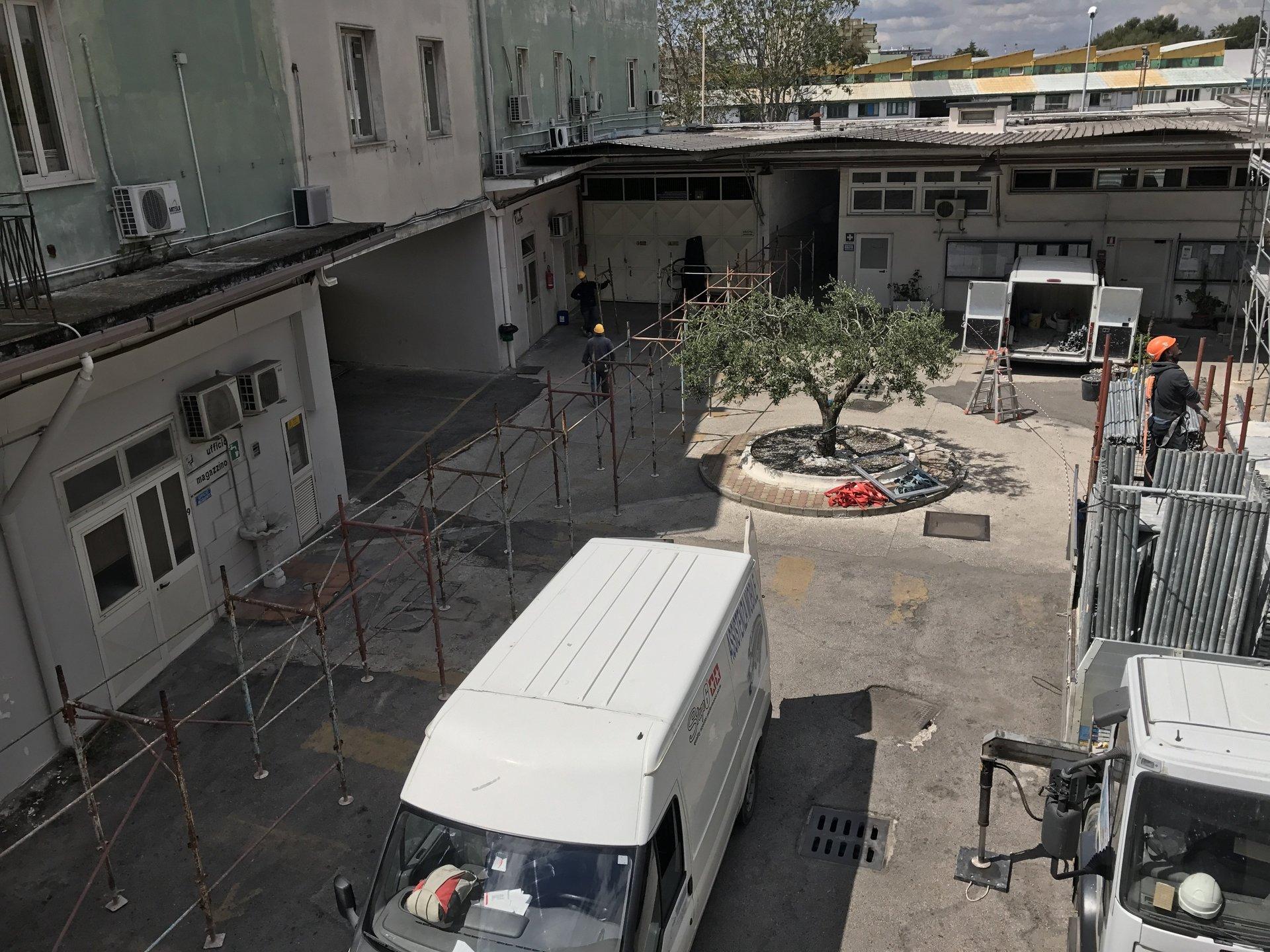 camion per lavori edili
