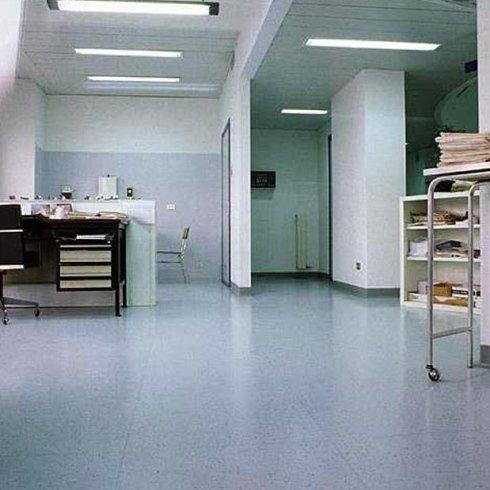 Pavimenti in linoleum per sanità