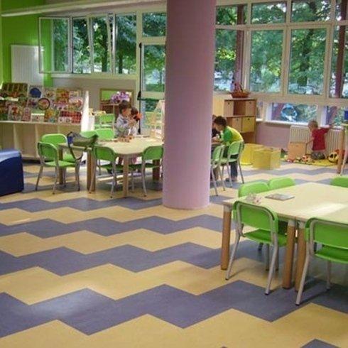 Pavimenti in linoleum per scuole ed asili