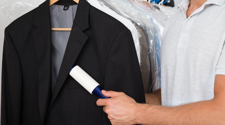 Vestiti alla lavanderia