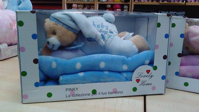 personalizzazione asciugamani con peluche orsacchiotto
