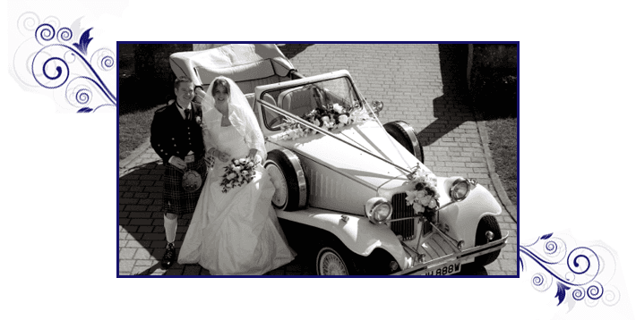 For beautiful wedding cars in Leeds call De-Lovely Wedding Cars