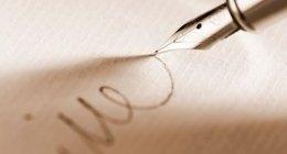consulenza grafologica, correzione motricità
