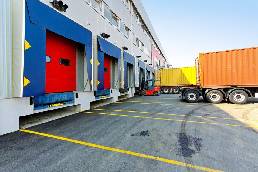 Red and blue loading bays from GT AUtomation