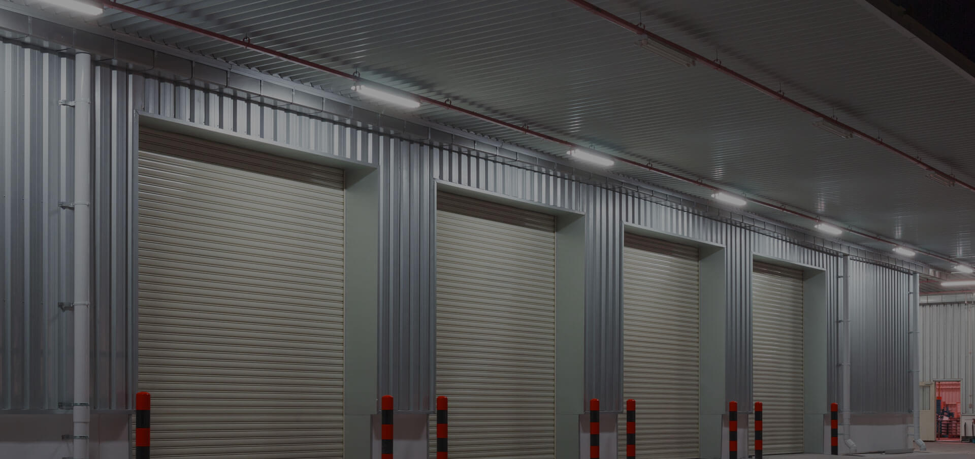 Industrial garage doors from GT Automation