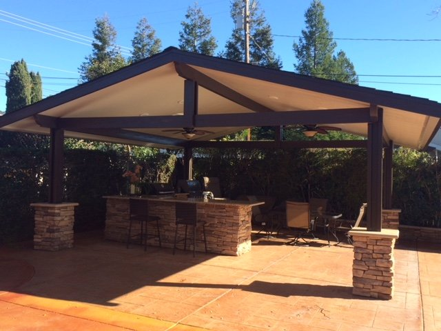 Solid Patio Covers - Concord CA | Creative Designs & Beyond on Patio Cover Ideas Wood id=76227