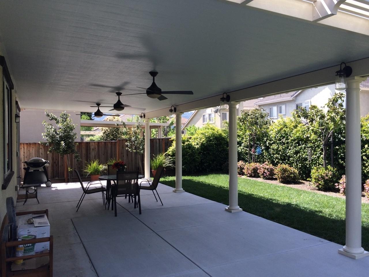 With The Addition Of Skylights To The Solid Patio Cover On His Clayton, CA  Home, We Are Able To Illuminate The Living Area To The Clientu0027s  Specifications ...