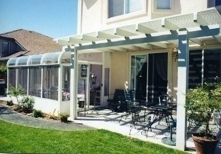 Louvered Porch Cover, Concord CA
