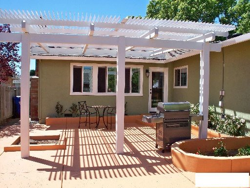 Louvered Patio Cover, Concord CA