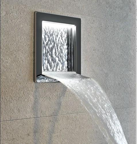 GESSI Bocca doccia con cascata